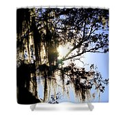 Rural Florida Sky Shower Curtain