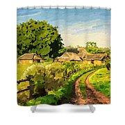 Rural Home Shower Curtain