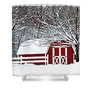 Rural Living Shower Curtain