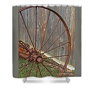 Rural Relics Shower Curtain