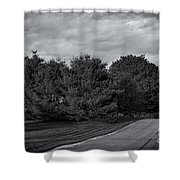 Rural Road 52 Shower Curtain