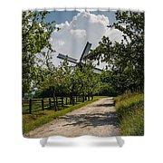 Rural Road  Shower Curtain