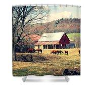 Ruralscape Shower Curtain