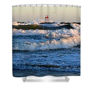 Rush Hour On Cape Cod Shower Curtain
