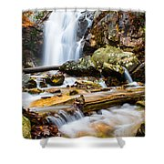 Rushing Falls Shower Curtain