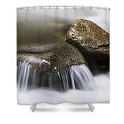 Rushing Peace Shower Curtain