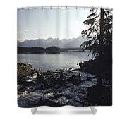 Rushing Stream Shower Curtain