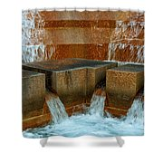 Rushing Water Shower Curtain
