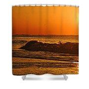 Rushing Waves Shower Curtain