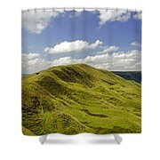 Rushup Edge From Mam Tor Shower Curtain