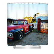 Russel Farms 1951 Ford F100 Shower Curtain