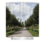 Russian Garden - St. Petersburg - Russia Shower Curtain