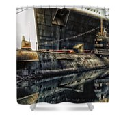 Russian Submarine Extreme Shower Curtain
