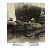 Russian Submarine Heirloom 01 Shower Curtain