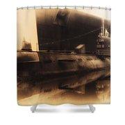 Russian Submarine Heirloom 02 Shower Curtain