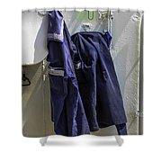 Russian Tall Ship Uniforms Shower Curtain