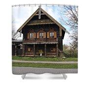 Russian Village - Potsdam Shower Curtain