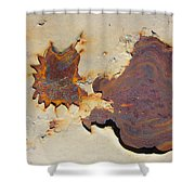 Rust #1 Shower Curtain