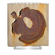 Rust #2 Shower Curtain