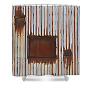 Rust And Window 3 Shower Curtain