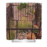 Rust Dust And Stone Shower Curtain