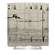 Rust Wind And Time Are Not Kind Shower Curtain