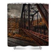 Rusted Bridge Shower Curtain