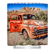 Rusted Classics - Job Rated Shower Curtain