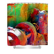 Rusted Glory 4 Shower Curtain