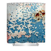 Rusted Shower Curtain