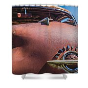 Rusted Oldsmobile Shower Curtain