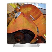 Rusted Out Chevrolet 5700 Shower Curtain by Liane Wright