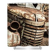 Rusted Pickup  Shower Curtain