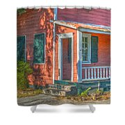 Rusted Tin Roof Shower Curtain