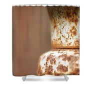 Rusted Urn Shower Curtain