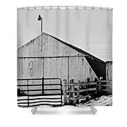 Rustic Barn 2 - 2 Shower Curtain
