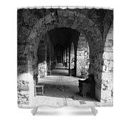 Rustic Castle Inn 3 Shower Curtain