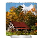 Rustic Charm Shower Curtain