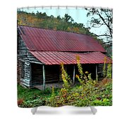 Rustic House II Shower Curtain