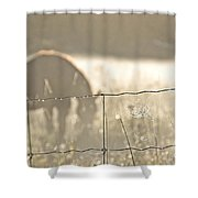 Rustic Morning Shower Curtain