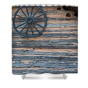 Rustic Ornamentation - Yates Mill Pond Shower Curtain
