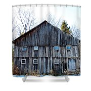 Rustic Places Shower Curtain