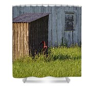Rustic Pump House 20140718 Shower Curtain