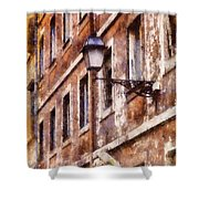 Rustic Rome Apartments Shower Curtain