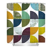 Rustic Rounds 2.0 Shower Curtain