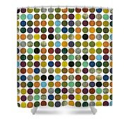 Rustic Rounds 225 Shower Curtain