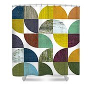 Rustic Rounds 3.0 Shower Curtain