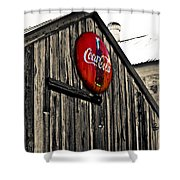 Rustic Shower Curtain by Scott Pellegrin