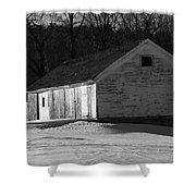Rustic Shack 2 Shower Curtain