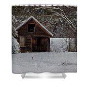 Rustic Shack After The Storm Shower Curtain